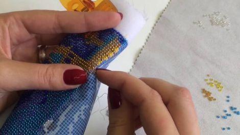 Польза от вышивания бисером