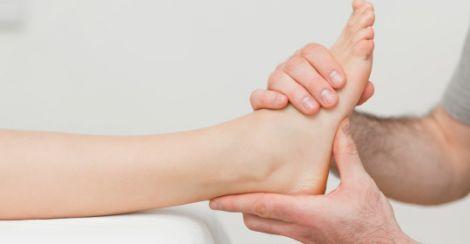 Перша допомога при вивиху ноги