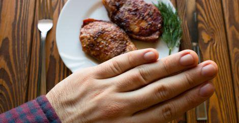 Небезпека відмови від м'яса
