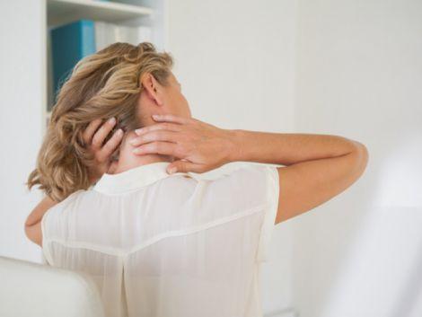 Вправи від болю в шиї