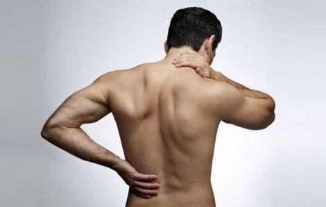 Виникнення болю у спині