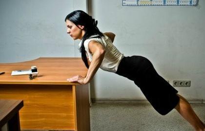 Гімнастика в офісі