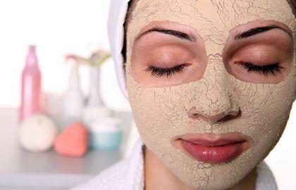 Глиняна маска