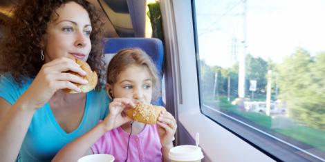 Корисна їжа для поїздки