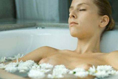 Гаряча ванна для схуднення