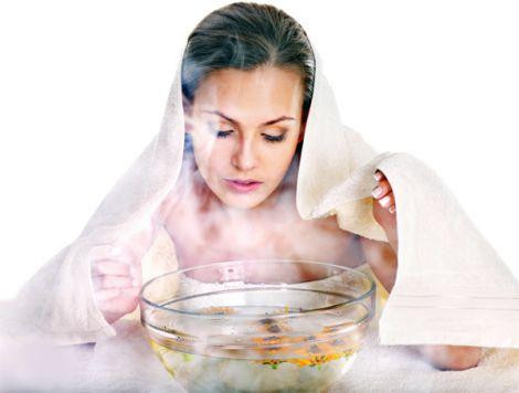 Парові ванний корисні для лікування прищів