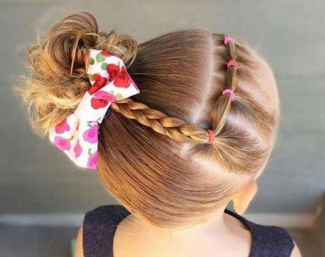 Оригінальні зачіски для підлітків (ВІДЕО)
