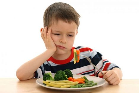 Дітям корисно їсти більше овочів