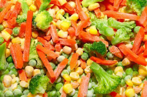 Користь заморожених овочів