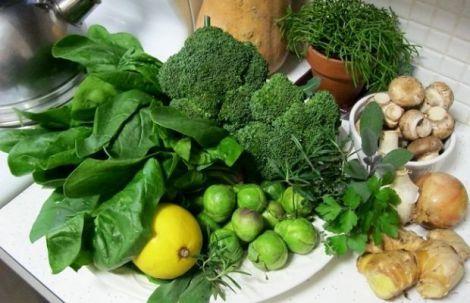 Корисні весняні овочі