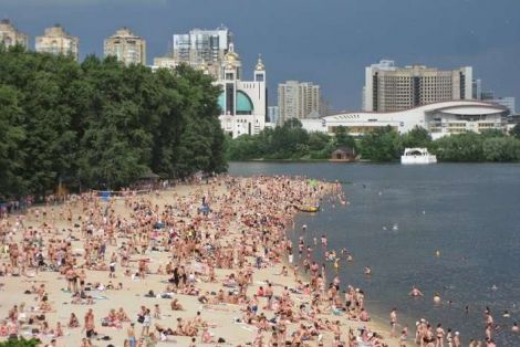 Заборона купатись у Києві