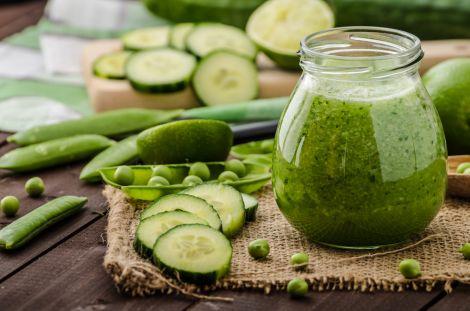 Зелений смузі для очистки організму
