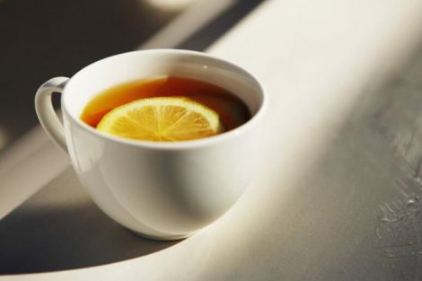 Лимонний чай для схуднення
