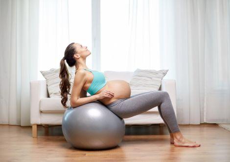 Тренування для вагітної жінки (ВІДЕО)