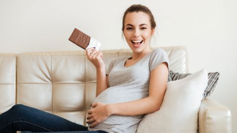 Шкода шоколаду для вагітних