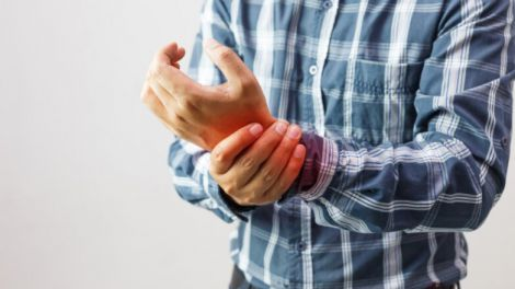 Прояви артриту на шкірі