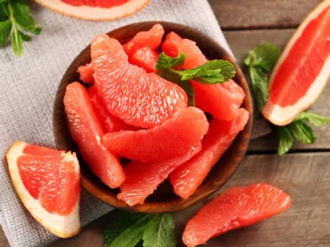 Грейпфрут допомагає схуднути