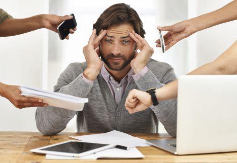 Стресові ситуації можуть провокувати недуги