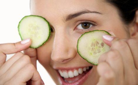 Огірки позитивно впливають на здоров'я шкіри