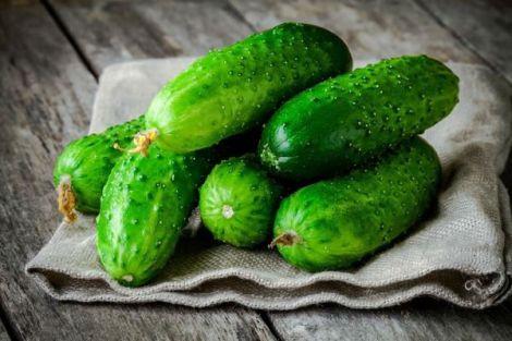 Огірки від зморшок