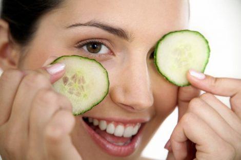 Огірки для омолодження шкіри