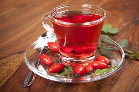Рецепт чаю з шипшини
