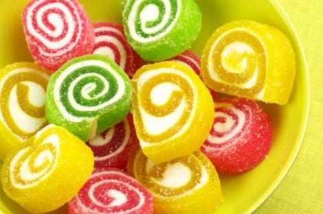 Мармелад - найменш калорійні солодощі