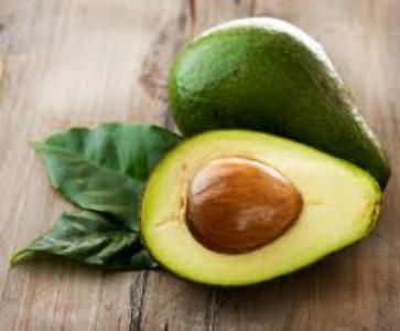 Авокадо містить фолієву кислоту