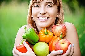 Клітковина, що міститься в овочах. запобігає всмоктуванню цукру