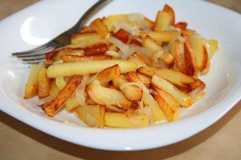 Смажена картопля уповільнює схуднення