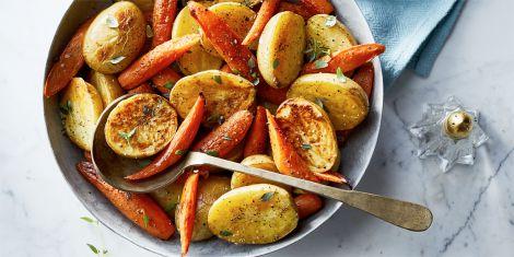 Корисна запечена картопля