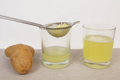 Сік картоплі для лікування