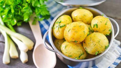 Споживання картоплі