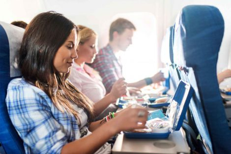 Чай та кава у літаку