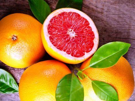 Грейпфрут чудово очищає легені