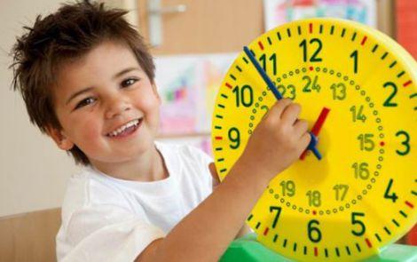 Вчимо дитину розбиратись на годиннику