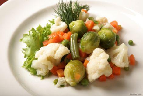 Варені овочі