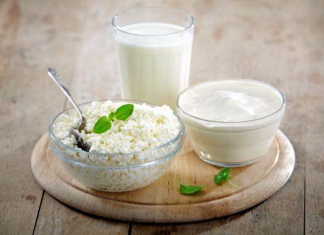 Кисломолочні продукти для очистки організму