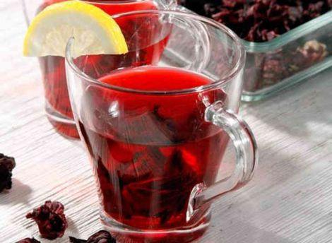 Чай каркаде для нормалізації тиску