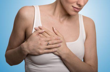 Біль у грудях - тривожний симптом
