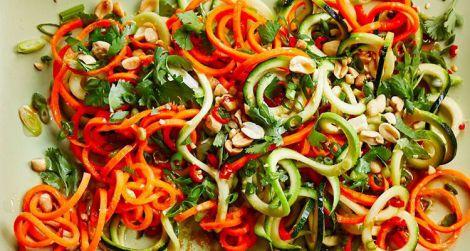 Смачний кабачковий салат