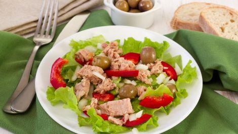 Салат з тунцем для корисного раціону
