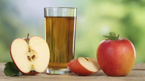 Користь яблучного соку у спеку