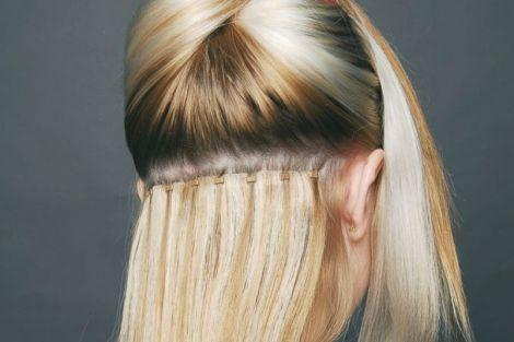 Нарощене волосся
