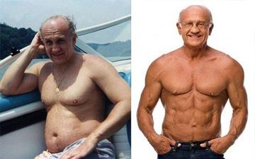 72-річний лікар тепер виглядає значно молодше