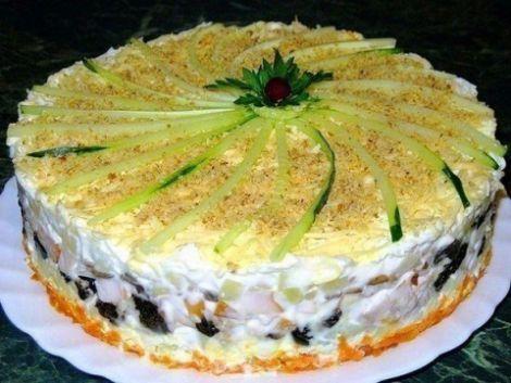 салат -тортик