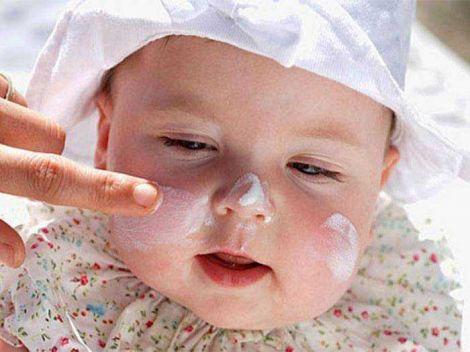 Сонцезахисний крем для дитини