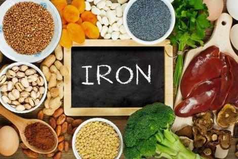 Рослинні продукти з вмістом заліза