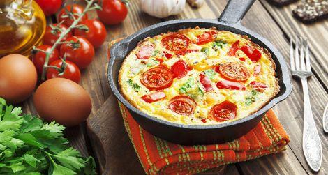 Піца на сковороді