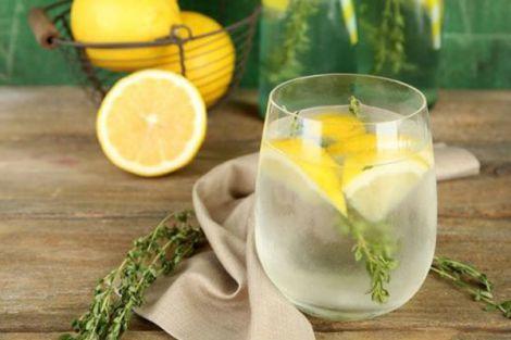Лимонна вода для детоксу